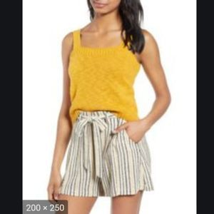 BP Yellow Mineral 100% Cotton Knit Tank Top